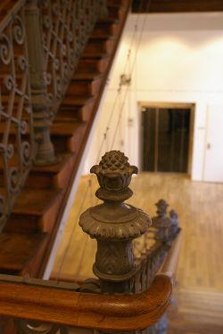 Bild zu Treppenaufgang der Akademie der Deutschen Medien im Literaturhaus München