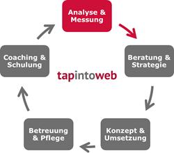 Grafik zu Kompetenz Analyse und Messung