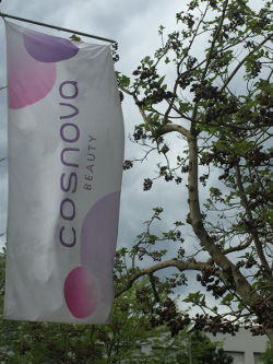 Bild von cosnova Flagge am Firmensitz in Sulzbach / Taunus