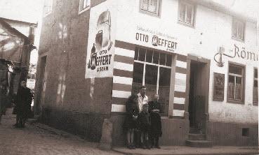 MeFarbengeschäft 1947 in Bad Kreuznach als Grundstein für die heutige Meffert AG Farbwerke